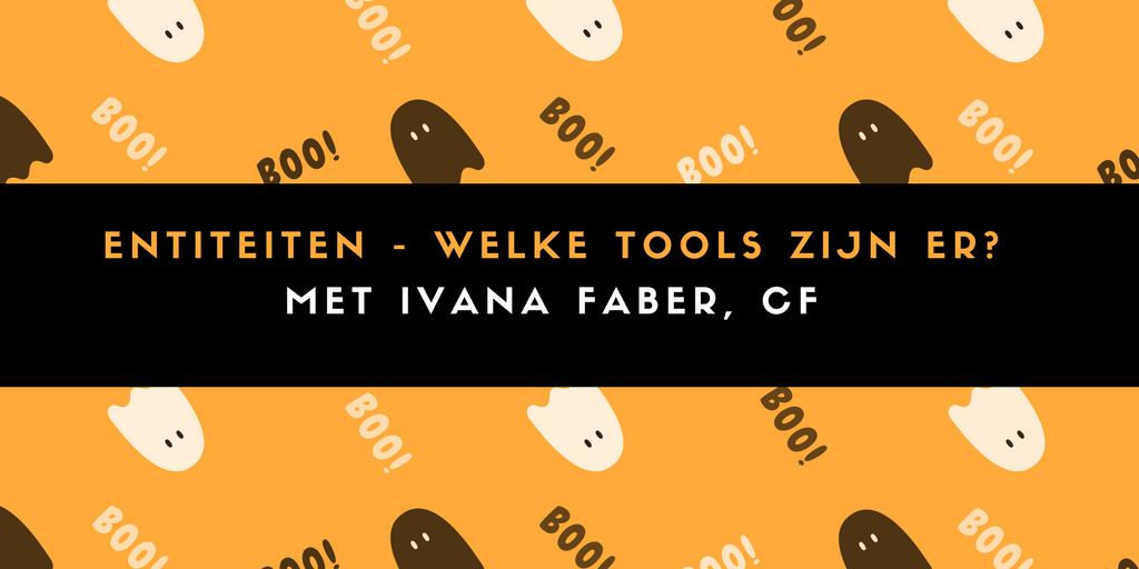 Entiteiten - welke tools zijn er?
